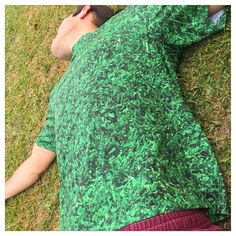 The grass is always greener on..... your tshirt! Grass Tee available only @ www.yoprnt.com