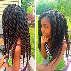 black girl with long natural hair - Google Search