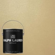 Ralph Lauren 1 gal. Pale Luster Gold Metallic Specialty Finish Interior Paint ME132 at The Home Depot - Mobile