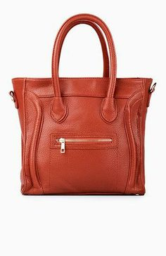 On The Go Structured Handbag