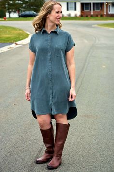 fc4f5370 Kalle Shirtdress // Closet Case Patterns Sewing Clothes Women, Clothes For  Women, Diy