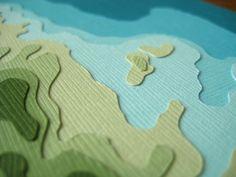 Papercraft topo