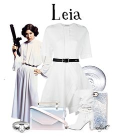 """Princess Leia - Star Wars"" by rubytyra ❤ liked on Polyvore featuring Guerlain, J.W. Anderson, Casetify, Philosophy di Lorenzo Serafini, M2Malletier and Lauren Ralph Lauren"