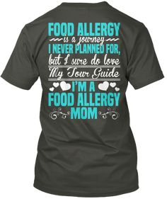 *Limited Edition* FOOD ALLERGY MOM   Teespring