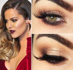 Khloé Kardashian Makeup Tutorial - 15 Celeb-Inspired Makeup Tutorials to Copy Right Now | GleamItUp
