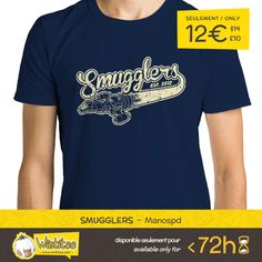 """(EN) """"Smugglers"""" designed by the astounding Manospd is our NEW T-SHIRT. Available 72 hours, order yours today for only 12€/$14/£10 on WWW.WISTITEE.COM     (FR) """"Smugglers"""" créé par l'incroyable Manospd est notre NOUVEAU T-SHIRT. Disponible 72 heures, réservez-le dès maintenant pour seulement 12€ sur WWW.WISTITEE.COM     #Smugglers #Contrebandiers #Firefly #luciole #Serenity #Shiny #Gorram #SerenityValley #Mal #Malcolm #MalcolmReynolds #Kaylee #Wash #Jayne #River #JossWhedon #western…"""