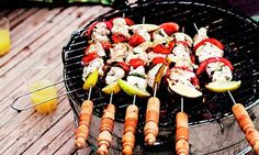 Recipes for an authentic Moroccan surfers' seafood barbecue