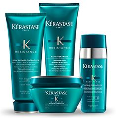 Explore Résistance hair care products by Kérastase and discover the best routine for Damaged hair.