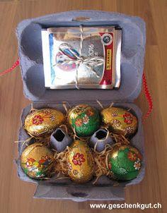 Osternest Eierkarton