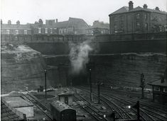 The railways of Nottingham have always been a favourite subject with our readers. Here Andy Smart tells the story of the important Weekday Cross Junction Nottingham Station, Old Train Station, Steam Railway, Train Art, Steam Locomotive, Aerial View, Old Photos, Past, Scenery