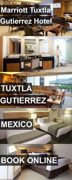 Hotel Marriott Tuxtla Gutierrez Hotel in Tuxtla Gutierrez, Mexico. For more information, photos, reviews and best prices please follow the link. #Mexico #TuxtlaGutierrez #MarriottTuxtlaGutierrezHotel #hotel #travel #vacation