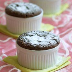 Sufleu de ciocolata Muffin, Sweets, Cooking, Breakfast, Desserts, Food, Gourmet, Kitchen, Morning Coffee