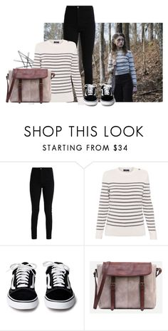 """""""Stranger Things: Nancy Wheeler Inspired Outfit"""" by calmandoutstanding ❤ liked on Polyvore featuring Saint James"""