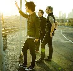 Green Day - I went to a concert of theirs many years ago. One of my favorite bands, love them
