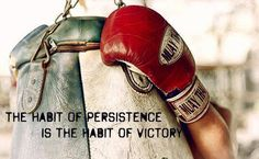 """""""The habit of persistence is the habit of victory."""" 9Round in Northville, MI is a 30 minute full body workout with no class times and a trainer with you every step of the way! Visit www.9round.com/fitness/Northville-Michigan or call (734) 420-4909 if you want to learn more!"""