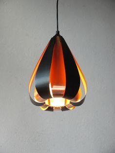 DANISH DESIGN LAMP, denmark 70er CORONELL o LYFA Pendelleuchte 70s modern Kupfer   eBay