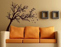 Wall Decals Tree Branch Family Decal Vinyl Sticker Home Living Decor Kitchen Interior Nursery Bedroom Hall Dorm Room Window Art Murals * For more information, visit image link.