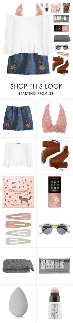 """""""happy easter!"""" by amazing-abby ❤ liked on Polyvore featuring Charlotte Russe, Topshop, Madewell, Sephora Collection, Forever 21, Retrò, Crate and Barrel, Boohoo, beautyblender and too cool for school"""