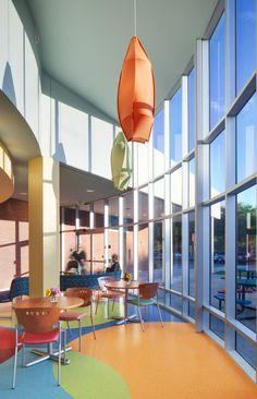 Uhrich design for children 39 s hospital oakland walnut creek - Oakland community college interior design ...