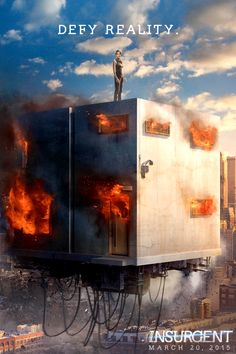 Defy Reality… Check out the new Insurgent poster & watch the teaser at divergentseri.es/defyreality now!   The Divergent Series