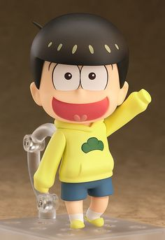 """I'm the... uh... fifth Matsuno brother! Jyushimatsu Matsuno!""From the popular anime series Osomatsu-san comes a Nendoroid of the fifth son of the Matsuno family, Jyushimatsu! He comes with three face plates including his cheerful smiling expression, a flustered expression with very characteristic eyes as well as a blank expression with a variety of different stickers for you to crea... #tokyootakumode #figure #Osomatsu-san"