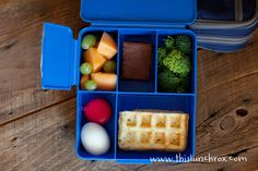 Healthy kids lunches.