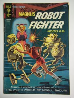 Gold Key Comics Magnus Robot Fighter No. 15 by SirKsCollectibles