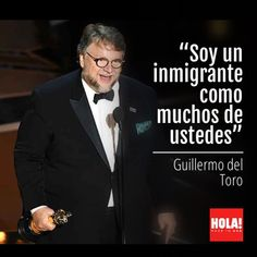 Famous Movie Directors, Famous Movies, Oscars, Guillermo Del Torro, The Shape Of Water, Best Director, Fangirl, Mexican, Quotes