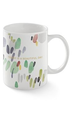 Fringe Studio 'Water Marks Green' Mug available at #Nordstrom