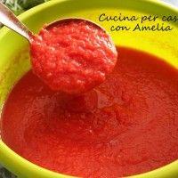 Sugo di pomodoro ricetta bimby