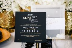 Sparkly New Year's Eve Party | theglitterguide.com