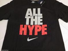 Nike RARE smack talk ALL THE HYPE black Men's T shirt TEE S regular fit 546586 Starfleet Academy, Upcycled Clothing, Star Trek, Black Men, Tee Shirts, Nike, Mens Tops, Shopping, Clothes