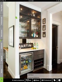 Mustn't forget the bar nook!