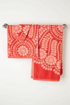 Lacy Cutwork  Bath Towels