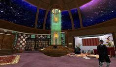 15 TARDIS Interiors You Wish Were Real This one's my other favorite.