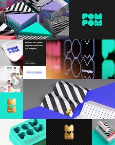POM POM - Brand Identity on Behance