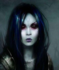Resultado de imagen para demon goth woman
