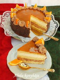 Tart Recipes, Sweet Recipes, Cookie Recipes, Hungarian Desserts, Hungarian Recipes, Torte Cake, Cold Desserts, British Baking, Sweet And Salty