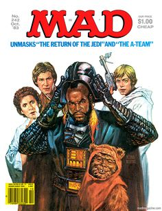 mad magazine covers | mad magazine the idiotical a-team Classic MAD, MAD Covers, Richard ...