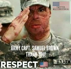 With RESPECT and HONOR!  Thank you for your service!!/ss