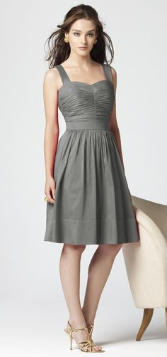 Slate grey Bridesmaid dress option