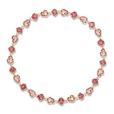 Fabergé Rococo Pink Spinel Necklace #Fabergé #Rococo #spinel #necklace