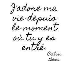 I love my life from the moment you entered it. I love my life from the moment you entered it. French Love Quotes, Best Love Quotes, Messages For Her, Love Of My Life, My Love, Fathers Day Quotes, Statements, Love Words, Quote Of The Day
