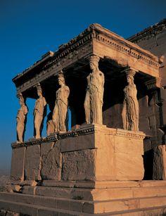 De Akropolis van Athene, ook wel 'hoofd van de stad'