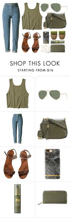 """""""Color Favorite"""" by smartbuyglasses ❤ liked on Polyvore featuring Hollister Co., Ray-Ban, Marc Jacobs, Emporio Armani, Origins, Marni and GREEN"""
