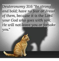 1/10/2018 Deuteronomy 31:6