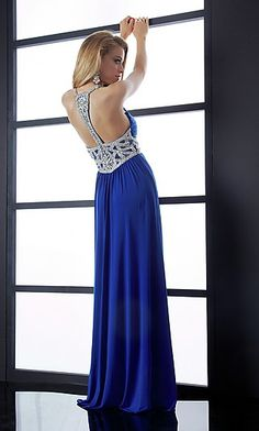 Beaded Prom Gown by Jasz 4549 at SimplyDresses.com