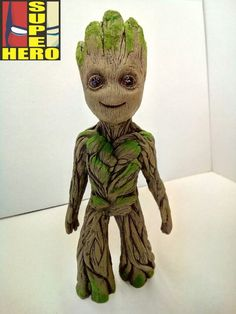 Baby Groot Marvel Guardians of the Galaxy por Superherotraditions