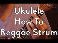How to do the Reggae Strum on Ukulele - Ukulele Lesson - Ukulele Tutorial - Strum Pattern Ukulele Tabs Songs, Ukulele Songs Beginner, Cool Ukulele, Uke Tabs, Music Lessons, Guitar Lessons, Sunshine Reggae, Reggae Style, Teaching Music