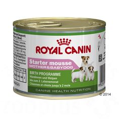 Animalerie  Royal Canin Starter Mousse Mother & Babydog pour chien  12 x 195 g